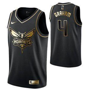 Men's Charlotte Hornets #4 Devonte' Graham  Swingm